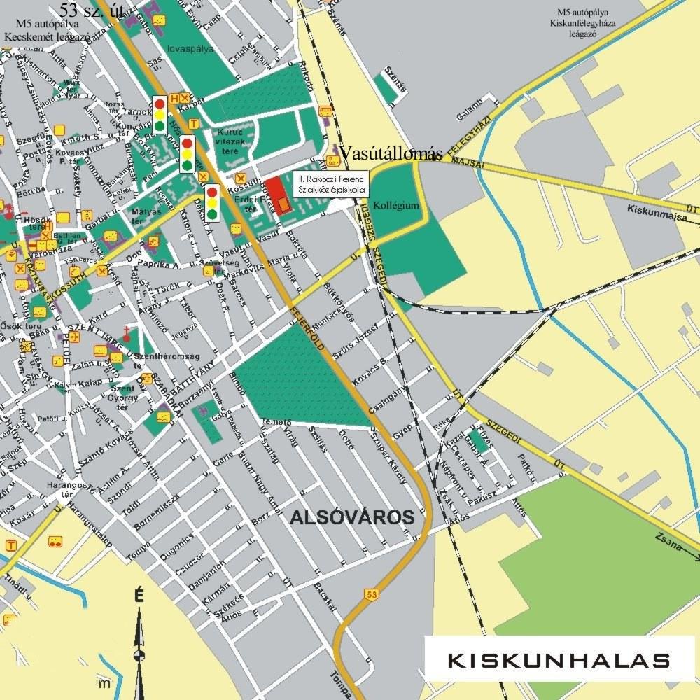 kiskunhalas térkép 6. Magyar Alkalmazott Mérnöki Tudományok Versenye kiskunhalas térkép